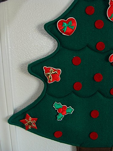 Precious Moments of Christmas Creation ~ Countdown The Days to Christmas ~ College Dorm Gift ~ Safe for Old Folks Home ~ Ornaments, No Pins or Needles ~ Classic to be Used Year after Year