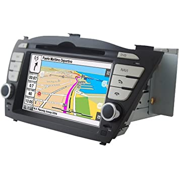 "2DIN 7"" HYUNDAI IX35: NAVEGADOR GPS, MANOS LIBRES BLUETOOTH, CD, DVD"