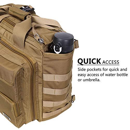 Lifewit 17'' Men's Military Laptop Messenger Bag Multifunction Tactical Briefcase Computer Shoulder Handbags by Lifewit (Image #3)