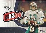 2006 Topps Football ''8306'' Complete Mint 10 Card Insert Set Featuring Reggie Bush, Dan Marino, Vince Young, John Elway, Jay Cutler, Jim Kelly, Matt Leinart and More!