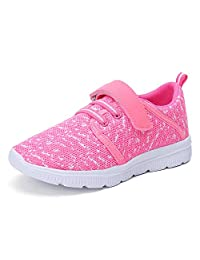 Xipai Toddler Kid's Lightweight Strap Sneakers Boys and Girls Cute Casual Running Shoes