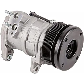 AC Compressor & A/C Clutch For Chrysler Aspen and Dodge Durango 2007 2008 - BuyAutoParts 60-01959NA NEW