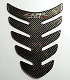 honda carbon fiber tank pad - Carbon Fiber Motorcycle Tank Protector Pad for Honda CBR500R