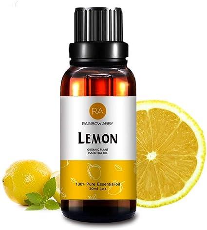Aceite Esencial De Limón De 1 0 Fl Oz 100 Puro Aceite De Aromaterapia Para Difusor Jabones Velas Masaje Cuidado De La Piel Perfumes Health Personal Care