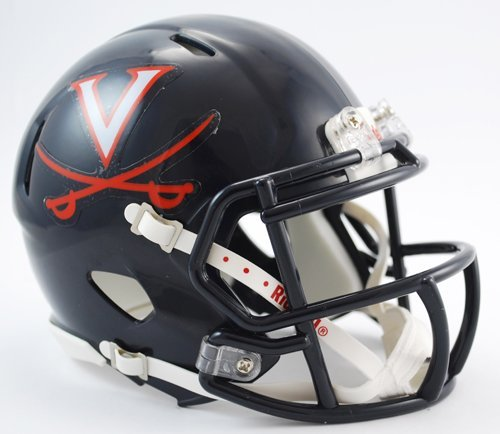 Riddell NCAA Virginia Cavaliers Speed Mini Helmet by Riddell