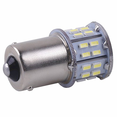 Cargo LED 20 Pcs Extremely Super Bright 1156 1141 1003 1073 BA15S 7506 50 SMD 3014 LED Replacement Light Bulbs for RV Indoor Lights 6000K Xenon White by Cargo LED (Image #2)