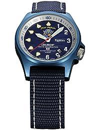 Kentex JSDF BLUE IMPULSE Standard 2 Men's Blue Dial Watch S455M-15