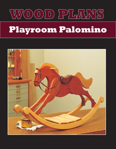(PALOMINO ROCKING HORSE - PAPER WOODWORKING PLAN )