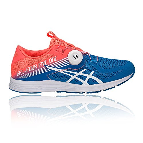 Asics Womens Gel-451, Flash Corallo / Bianco / Blu Directoire Corallo Flash / Bianco / Blu Directoire