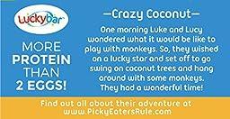 Luckybar - Crazy Coconut Protein Bar - 12 Count