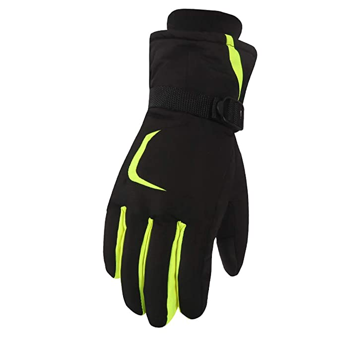 20e81958a0 Guanti da Sci Uomo Donna Caldo Guanto Impermeabili Antivento Esterno da  Snowboard Gloves per Ciclismo Arrampicata Caccia Blu Verde Grigio Arancione  ...