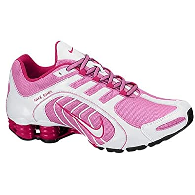 sale retailer f986a 9ddc5 Nike Shox Navina - Womens Red Violet White Black Bright Magenta Size 7.5