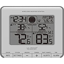 La Crosse Technology T83646 Wireless Weather Station with Time