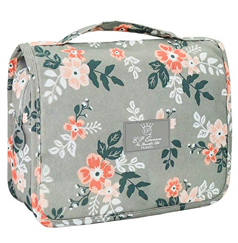 Portable Hanging Travel Toiletry Bag Waterproof Makeup Organizer Cosmetic Bag Pouch For Women Girl (Halo Moisturizing Shampoo)