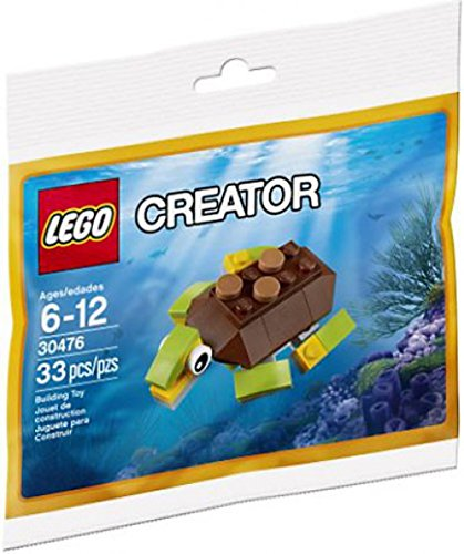 [해외] LEGO CREATOR HAPPY TURTLE 30476 BAGGED SET