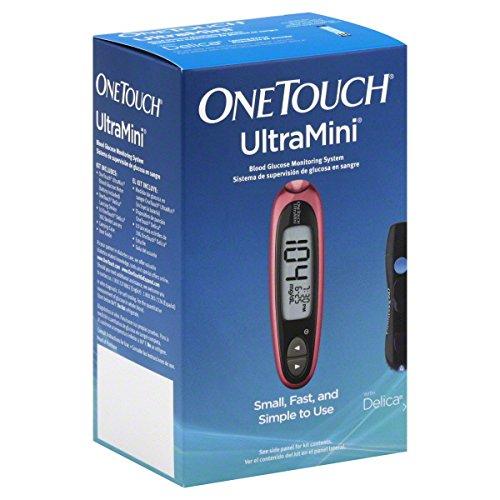 Système de surveillance du glucose OneTouch UltraMini, Rose Glow 1 ea