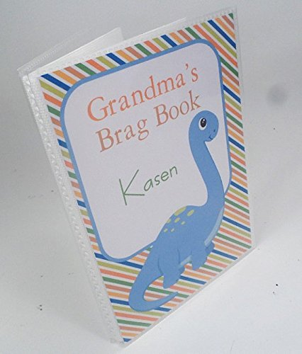 Baby Photo Album . Dinosaur. 137 . 4x6 or 5x7