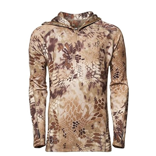 Kryptek Cronos Camo Hunting Hoodie (Fleece Collection), Highlander, XL