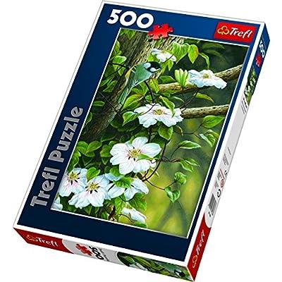 Trefl 500 Sikorka Pord Kwiatw 37166 Puzzle
