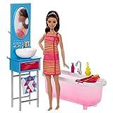 Barbie Bathroom and Doll