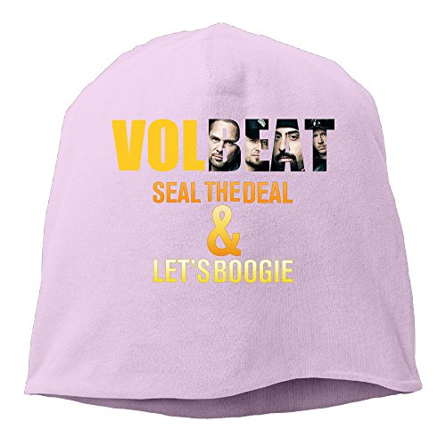 YUVIA Seal The Deal And Let's Boogie Men's&Women's Patch Beanie Mountain ClimbingPink Caps Hats For Autumn And (Boogie Man Costume)