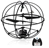 ufo toy remote control - Top Race Robotic UFO 3-Channel Rc Remote Control I/R Flying Ball