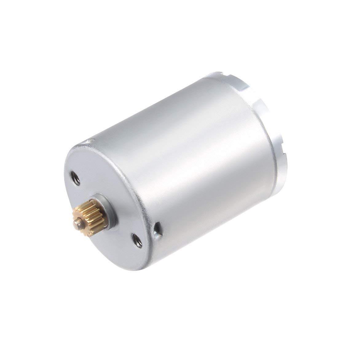 eDealMaxマイクロモーターdc 6ボルト14000 rpm 9歯高速モーター用diyのおもちゃモデルリモートコントロール B07T23J8TK