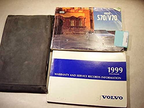 1999 volvo s70 v70 owners manual volvo amazon com books rh amazon com Volvo XC60 Volvo V60