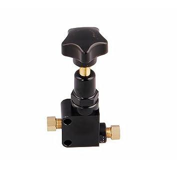 LPY-Válvula de Proporción de Freno de Aluminio Válvula de Apoyo Ajustable Vástago de Compresor