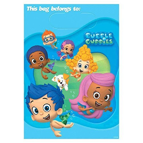 Bubble Guppies Treat Bags, Party Supplies by Bubble Guppies -