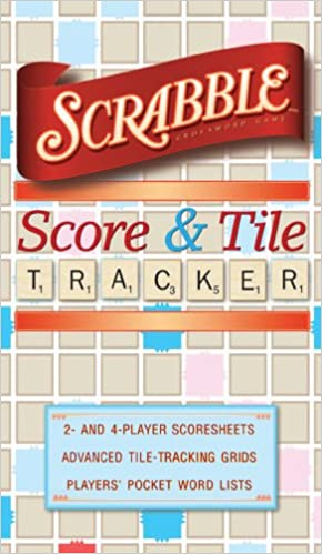 Scrabble Score & Tile Tracker: Inc. Sterling Publishing Co