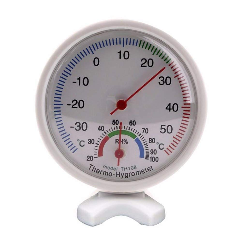 FEIDA Round Analog -35¡æ to 55¡æ Thermometer Hygrometer Hygrothermograph Temperature Humidity Meter