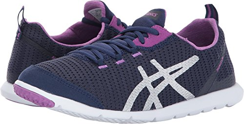 ASICS Women's Metrolyte Walking Shoe, Indigo Blue/Orchid/Silver, 6.5 Medium US