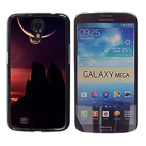 Stuss Case / Funda Carcasa protectora - The Dark Hills - Samsung Galaxy Mega 6.3
