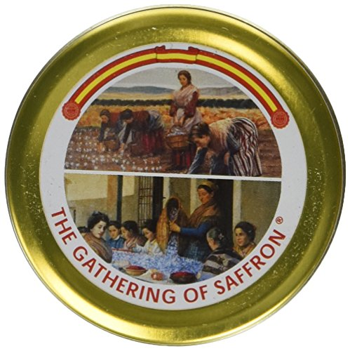 The Gathering of Saffron Brand Pure Spanish Saffron 5 Grams