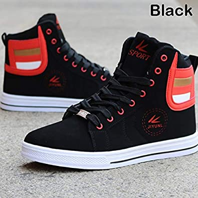 Mens Shoes Mens Fashion Athletic Shoes Round Toe Solid Color Sports Sneaker Fashion LING--LMAO