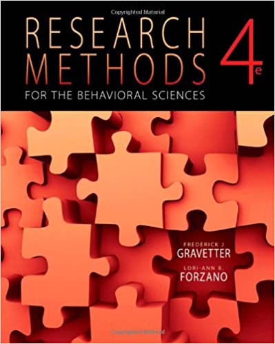 Amazon research methods for the behavioral sciences 4th amazon research methods for the behavioral sciences 4th edition 9781111342258 frederick j gravetter lori ann b forzano books fandeluxe Image collections