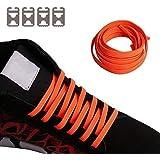 [Sindax] 靴ひも 結ばない 靴紐 伸びる靴ひも ほどけない ストレッチシューレース スニーカー メンズ レディース用 脱ぎ履き便利 子供から高齢者までも対応 ステンレスバックル付き