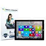 Surface Pro 3 Screen Protector, Tech Armor High Definition HD-Clear Microsoft Surface Pro 3 (2014)[Not 10.1