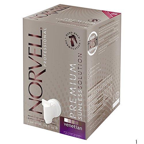 Norvell Premium Sunless Tanning Solution - Venetian, Gallon/128 fl.oz. (Gallon Solution)