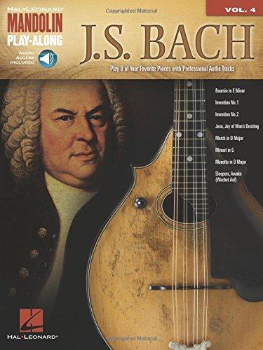 (J.S. Bach: Mandolin Play-Along Volume 4)