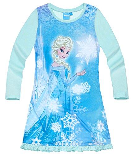 Disney Die Eiskönigin Elsa & Anna Mädchen Nachthemd - hellblau - 128