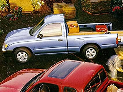 Amazon com: Peel-n-Stick Poster of 1999 Toyota Tacoma Car