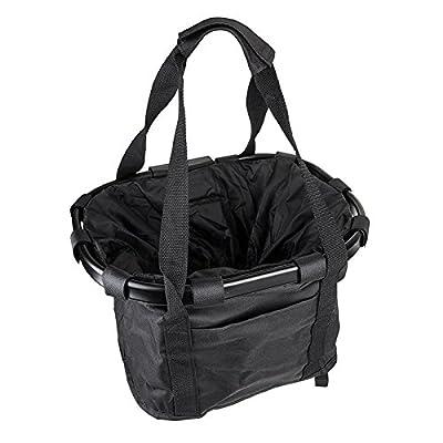 SUNLITE Canvas & Alloy QR Basket, Black : Bike Baskets : Sports & Outdoors