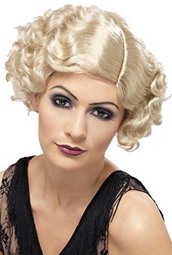20's Flirty Flapper Wig Blonde -