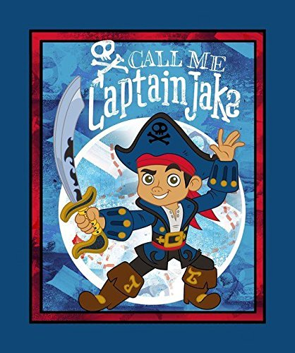 (Jake & The Neverland Pirates Quilt Top 100% Cotton 43