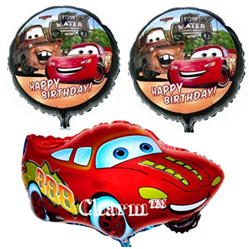 Set of 3 Balloons CR Kids Birthday Party by -