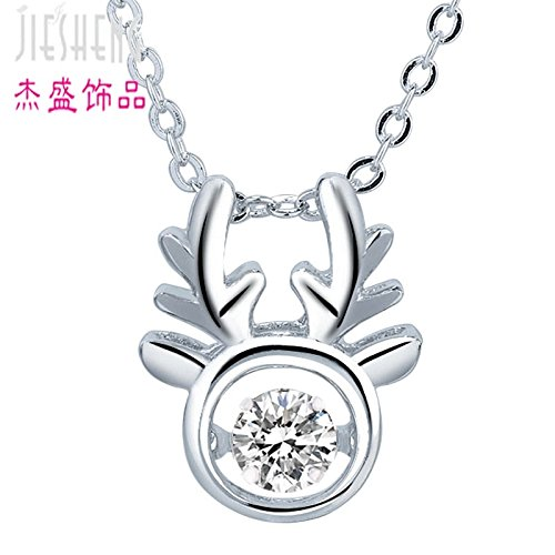 usongs Direct Christmas ornaments antlers Smart necklace pendant all way necklace pendant you have a generation fat