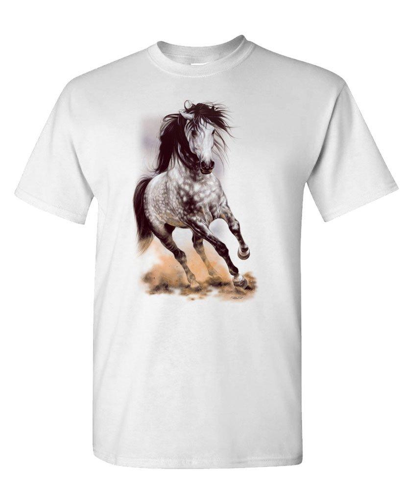 Glorious Gray Dapple Grey Appaloosa Horse S T Shirt 1170