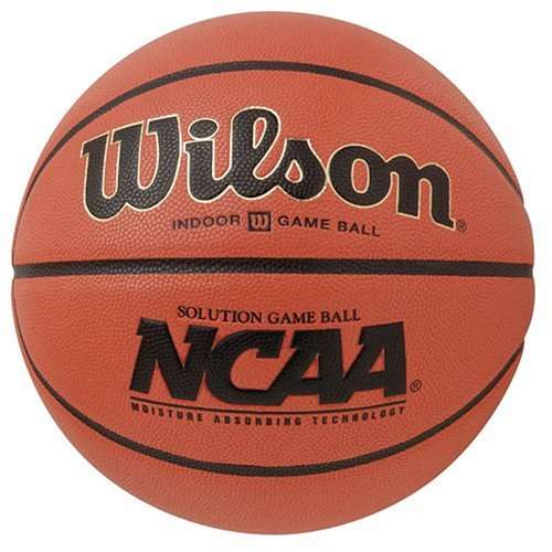 Wilson NCAA Solution Game Ball Basketball, Size 6 by Wilson